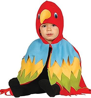 Guirca - Disfraz de loro, talla 12-24 meses, color rojo (85993 ...