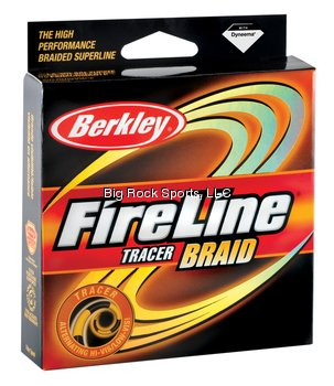 Berkley Fireline Braid 300 Yd Spool(30/8-Pound,Tracer), Outdoor Stuffs