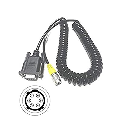 Amazon Com Jh Pro Total Station Data Collector Cable Rs232 For