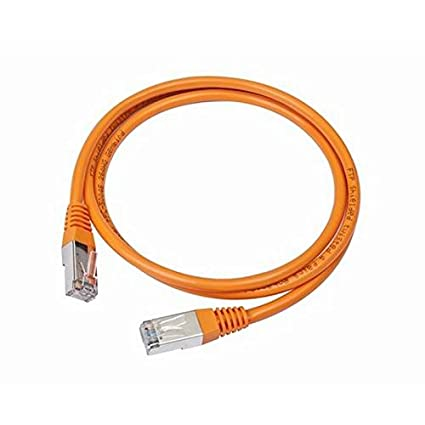 iggual IGG310175 2m Cat5e F/UTP (FTP) Naranja - Cable de red (