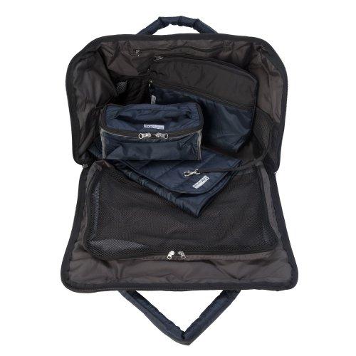 7 A.M. Voyage, Voyage Bag (Metallic Prussian Blue, Large)