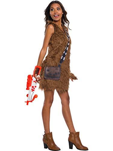 Chewbacca Womens Costume (Rubie's Star Wars Classic Women's Chewbacca Dress, Large, Color As)