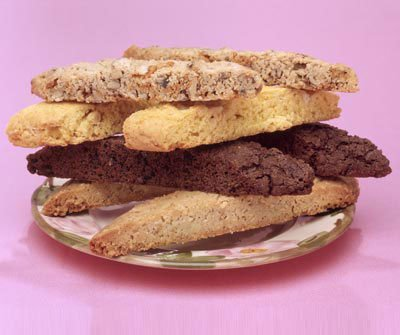 Fruit, Butterscotch & Nut Biscotti Made To Order Cookies - One Dozen