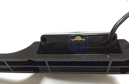BW Cam/éra de recul sans fil /étanche /à fixer sur la plaque arri/ère vision de nuit CMOS 135 /° E322