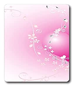 christian mouse pads Pink Valentine Heart PC Custom Mouse Pads / Mouse Mats Case Cover