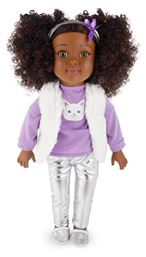 Search : Positively Perfect Brianna African American Fashion Doll, 18""