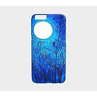Raven Tree Moon iPhone Art Flower Abstract Case Canadian Art iPhone 7 plus / 8 plus , iPhone 7 / 8 , 6 Plus / 6S , Phone 6 / 6S ,iPhone 5 / 5S, Galaxy S8 , S7 Edge / S7 , S6 Edge / S6 / S5 / S4/ S3 handmade artist phone device case