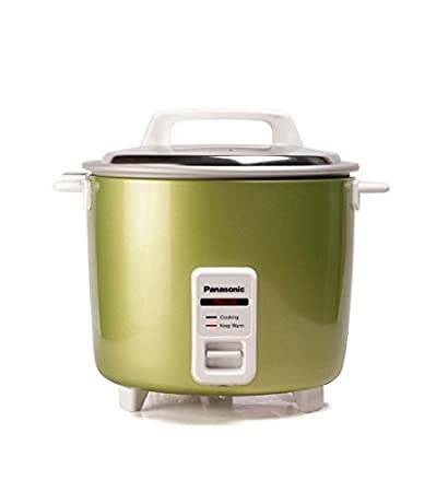 d40844837 Buy Panasonic SR-WA22H(E) 5.4-Litre Automatic Rice Cooker (Apple Green)  Online at Low Prices in India - Amazon.in