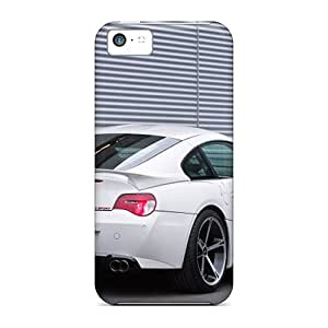 High Quality White Ac Schnitzer Bmw M Coupe Rear Angle Cases For Iphone 5c / Perfect Cases