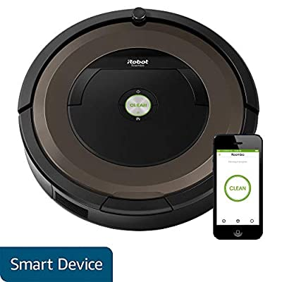 iRobot Roomba 890,891 Robot Vacuum Cleaner,with Wi-Fi Connectivity, Works with Alexa, Ideal for Pet Hair, Carpets, Hard Floor Surfaces