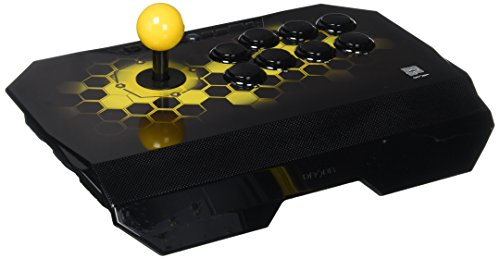 Qanba Drone Joystick for PlayStation 4 and PlayStation 3 and PC (Fighting Stick) Officially Licensed Sony Product (Best Joystick For Tekken 7)