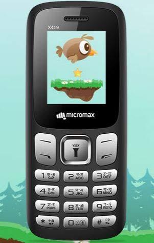 Micromax X419 Black