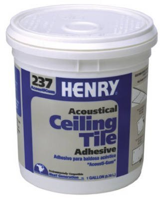 Henry, Ww Company Gal #237 Acou Adhesive 12016 Tile & Ceramic Adhesive by Henry