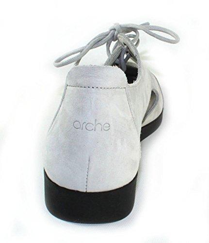 Arche Womens Ceon En Brume Nubuck / Noir Sole - Coquille Doeuf - Taille 38 M