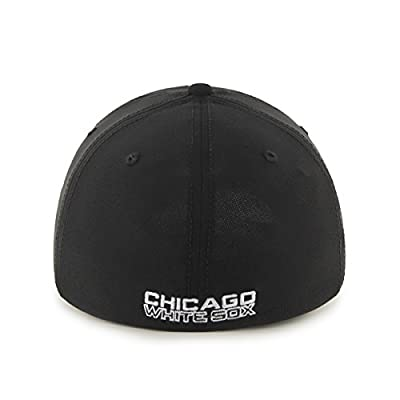 MLB Chicago White Sox Game Time Closer Stretch Fit Hat, One Size, Black