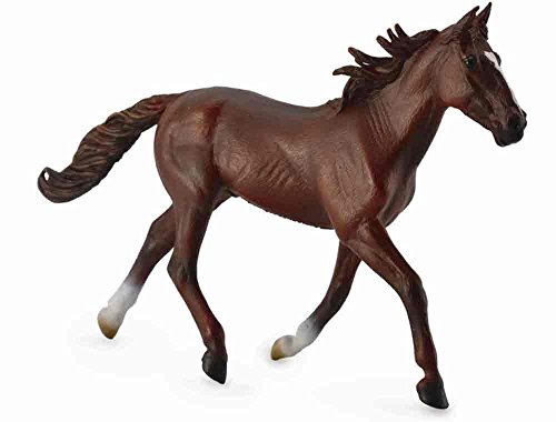 Collect A Horses Standardbred Pacer Chestnut Stallion Toy - Horse Chestnut Stallion