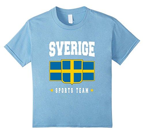 Sweden Flag Adults Mens T Shirt 12 Colours  Size S 3XL