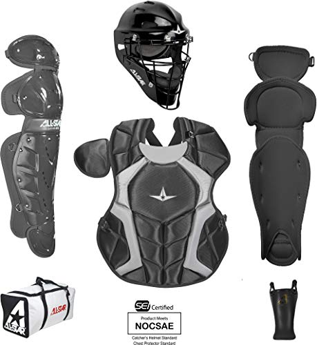 All-Star Youth Players Series Catcher Kit Ages 9-12 Black