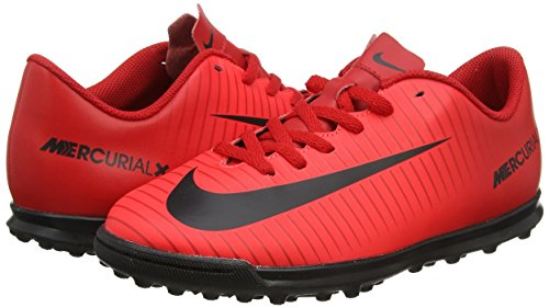 Nike Jr. Mercurial X Vortex Iii (tf) Astro Gras Trainers - Universiteit Rood