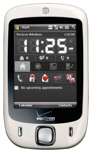 HTC Touch XV6900 Phone, White (Verizon Wireless)