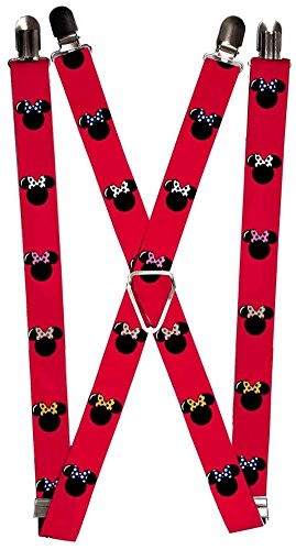 Buckle Down Suspenders Minnie Silhouette Accessory product image