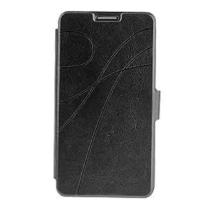 Wohai Gadget Mall - Cartera de cuero del monedero del patrón bolsas de cuero de imitación para Samsung Galaxy Note 3 , Azul