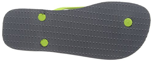 steel erwachsene Havaianas Brasil Zehentrenner Logo Grey Unisex Grey avYqPw7