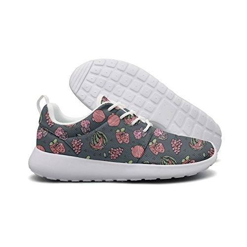 Cute Lightweight Running quick dry Shoes Sneaker Violet Travel Cat Different Opr7 Fruits On Women White Background pSn0wpqd