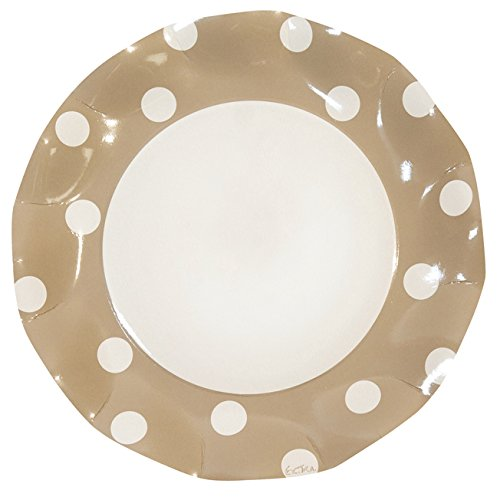 POIS GOLD PETALO ATMOSFERA DINNER PLATES by Sophistiplate