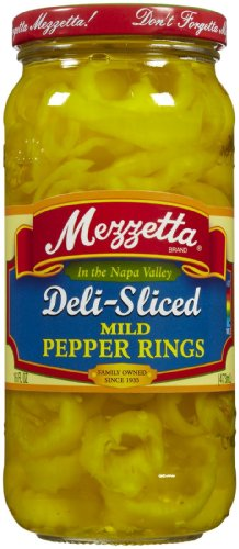 Mezzetta Mild Ring Peppers, 16 oz (Rings Pepper)