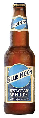 Cerveza Blue Moon Belgian White - Botella 355 ml - 24 Pack