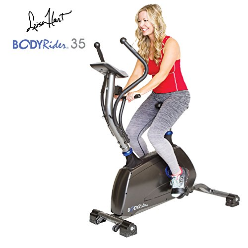The Body Rider 35 Core & Cardio Workout Ab & Thigh Exercise Gallop Workout Trainer Machine, Silver/Blue by Body Rider
