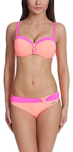 Rosa Push up Verano J51N3T1 Donna Salmone Bikini REwqqYfT