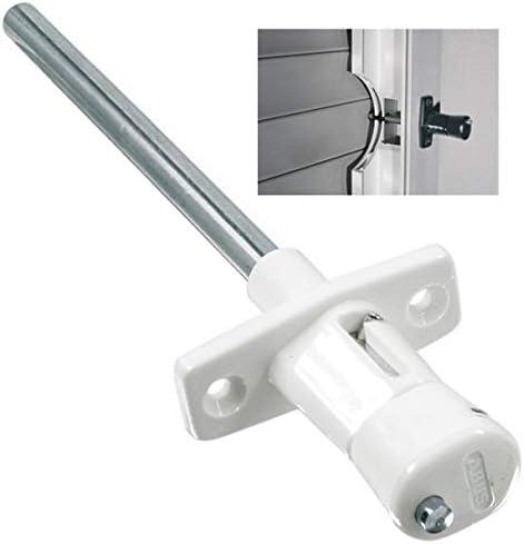 Abus RS87 W C - Par de cerrojos de presión para persianas blanco blister
