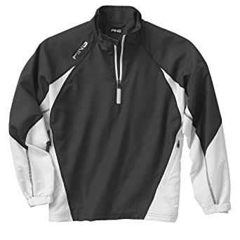 Ping Men's Recovery Half Zip Pull-over Jacket (XL, Forged Iron)