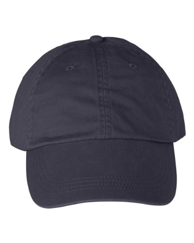 Anvil 145 6-Panel Pigment-Dyed Twill Cap Navy