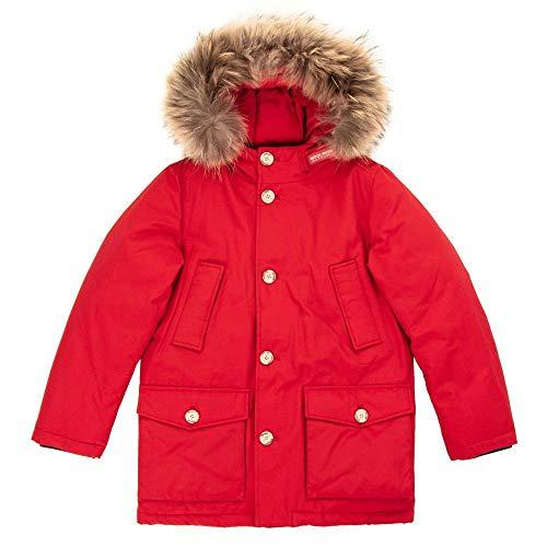 Navy Red Woolrich Inverno Dark Giubbotto Wkcps2028 Parka Detachable Bambino wvpq7SX