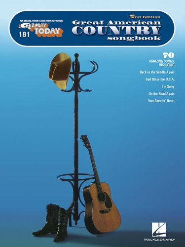 Great American Country Songbook: E-Z Play Today Volume 181