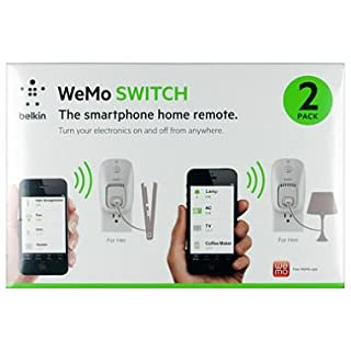 Belkin Wemo Switch Outlet - 2 Pack (B00M39AVLO) | Amazon price tracker / tracking, Amazon price history charts, Amazon price watches, Amazon price drop alerts