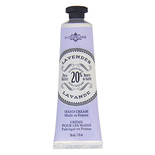 La Chatelaine 20% Shea Butter Lavender Hand Cream with Organ