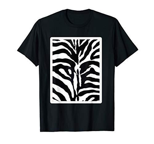 (Stylish Zebra Print Tshirt Design)