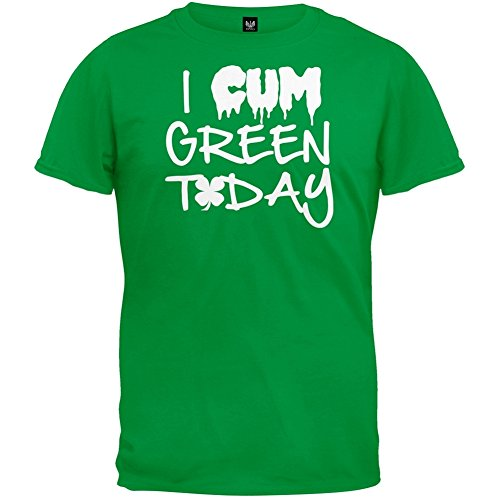 St. Patrick's Day - I Cum Green Today
