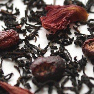 Summer Currants (Black Currant) Loose Leaf Black Tea, 8 Ounce Currant Leaf