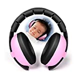 KOBWA Baby Hearing Protection Noise Canceling Headphones for Children Infants, Fully Adjustable for 3 Months to 10 Yrs