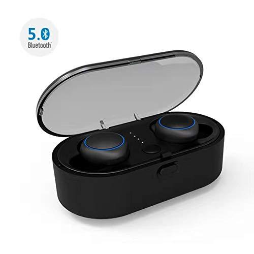Abeyete Bluetooth Kopfhörer Kabellos Automatische Verbindung In Ear Kopfhörer Bluetooth 5.0 Headset Stereo-Minikopfhörer Sport ohrhörer Wireless Earbuds mit Mikrofon für Android, mit Ladekästche