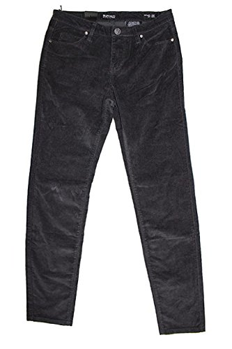 Buffalo David Bitton Women's Brushed Corduroy Skinny Jean (8/29, Black)