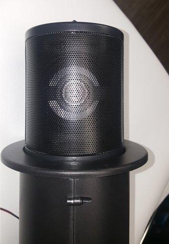 Thunder Audio AM350 3.5-Inch 2 Way Spa / Pool / Marine Water Resistant Pop Up Speaker Black