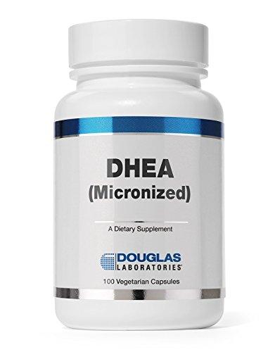 Дуглас Laboratories® - DHEA (микронизированный) (25 мг) - 100 вегетарианские капсулы