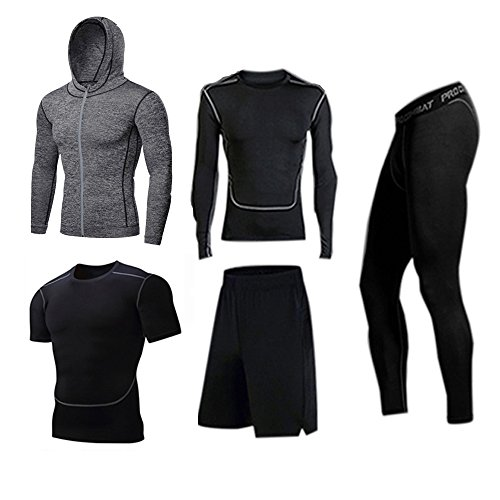 BUYJYA Compression Pants Sleeve Jacket product image