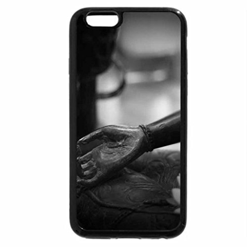 iPhone 6S Case, iPhone 6 Case (Black & White) - Spa day